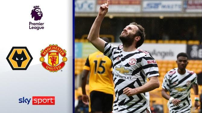 Santo verabschiedet sich mit Niederlage | Highlights: Wolverhampton - ManUnited 1:2