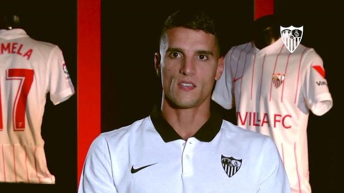 "Imagen de vista previa para Erik Lamela: ""El Sevilla es un club enorme"""