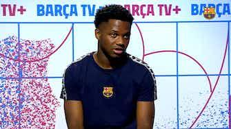 """Imagen de vista previa para Ansu Fati: """"Quiero volver a disfrutar del fútbol"""""""