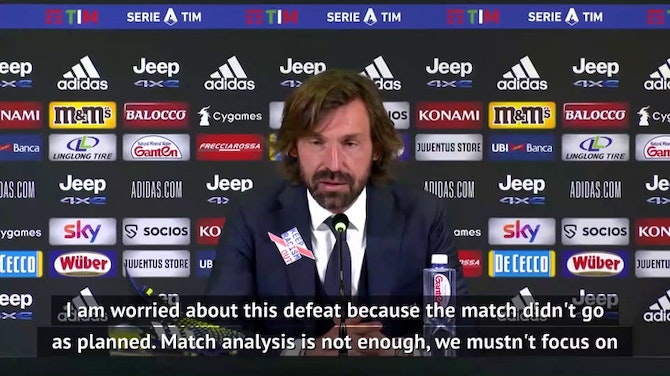 Preview image for Pirlo angered by Juventus attitude in Benevento defeat