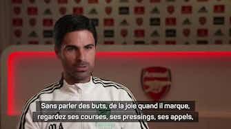 """Image d'aperçu pour Arsenal - Arteta : """"Aubameyang et Lacazette sont des leaders par l'exemple"""""""