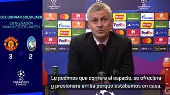 Imagen de vista previa para Los halagos de Solskjaer a Cristiano tras un nuevo gol salvador del portugués