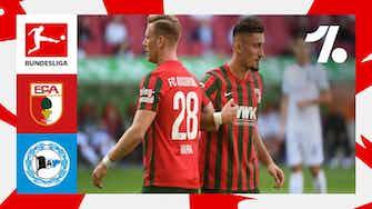 Imagem de visualização para Melhores lances de Augsburg vs. Arminia Bielefeld | 10/17/2021
