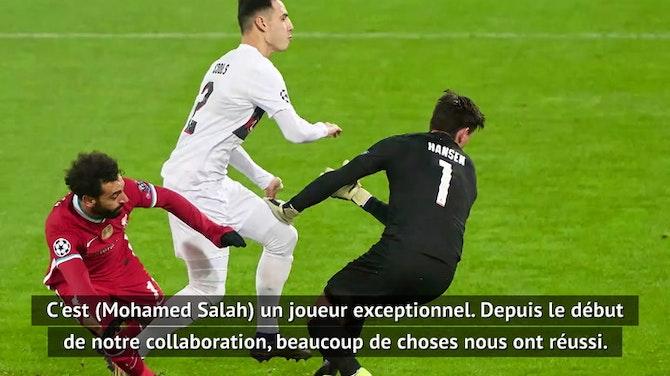 """Groupe D - Klopp : """"Salah est un joueur exceptionnel"""""""