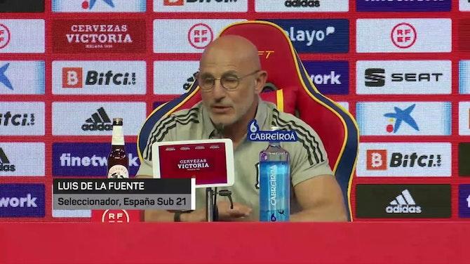 """Imagen de vista previa para Luis de la Fuente: """"Estoy preparado si tengo que dirigir a la Selección en la Eurocopa"""""""