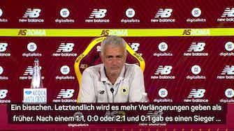 """Vorschaubild für Mourinho: """"Es gibt jetzt mehr Verlängerungen"""""""