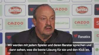 """Vorschaubild für Benitez sucht für James nach """"der besten Lösung"""""""