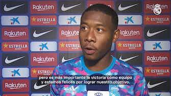 Imagen de vista previa para David Alaba: 'Me siento muy afortunado, mi primer Clásico y mi primer gol'