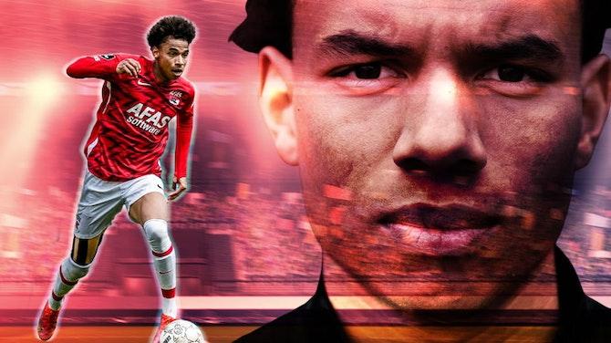 Vorschaubild für Made in the Eredivisie: Calvin Stengs - Tore & Assists 2020/21 | AZ Alkmaar | OGC Nice