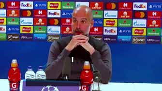 Preview image for 'Did I say I was leaving Man City?' - Guardiola hits back at journalist