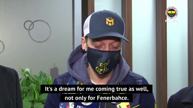 Preview image for Ozil excited to join Fenerbahce