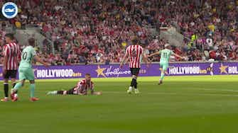 Preview image for Pitchside View: Leandro Trossard's last-minute winner at Brentford
