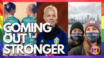 Preview image for Celebrating LGBTQ+ athletes in football | #ComingOutStronger