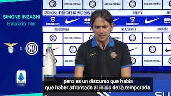 """Imagen de vista previa para Inzaghi: """"LaLiga ha hecho bien aplazando los partidos"""""""