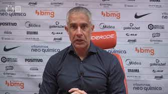 """Imagem de visualização para """"É um tema da diretoria"""", diz Sylvinho sobre situação contratual de Gabriel Pereira"""