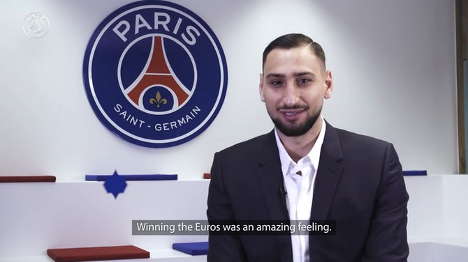 Preview image for Donnarumma: 'A dream to play here'