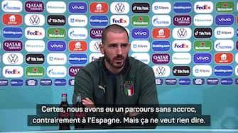 """Image d'aperçu pour Demies - Bonucci : """"Il ne peut pas y avoir un favori"""""""