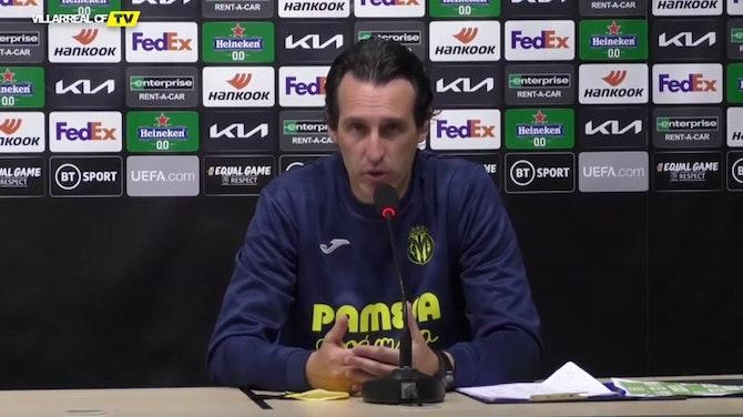 """Emery en contra de la Superliga: """"El fútbol es de los aficionados"""""""