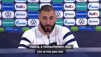 """Image d'aperçu pour Finale - Benzema : """"Ce titre me donne encore plus d'ambition avec les Bleus"""""""