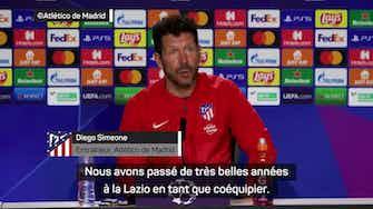 """Image d'aperçu pour Atlético de Madrid - Simeone : """"Nous allons affronter un ami, Sergio Conceição."""""""