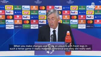 Preview image for Carlo Ancelotti: 'This team not only have quality, they show real commitment'
