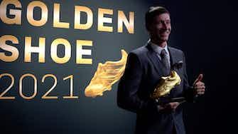 """Vorschaubild für Lewandowski erhält Goldenen Schuh: Familie eine """"große Stütze"""""""