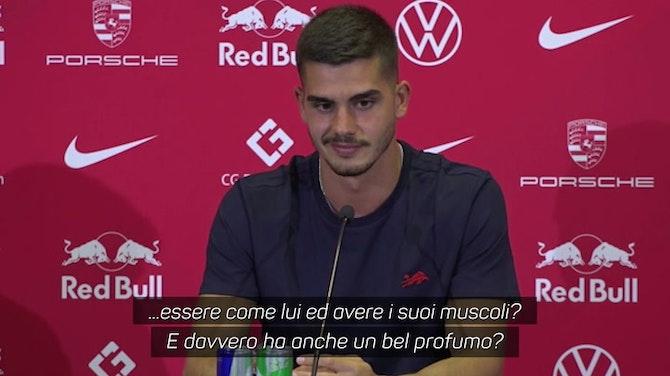 """Anteprima immagine per André Silva e la domanda su CR7: """"Vorresti avere il suo odore?"""""""