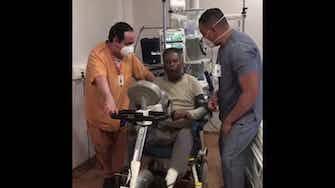 Imagen de vista previa para  Pelé comienza su rehabilitación en el hospital