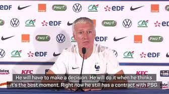 Preview image for Mbappé not distracted by transfer speculation - Deschamps