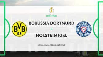 Image d'aperçu pour DFB Pokal Highlights: Borussia Dortmund 5-0 Holstein Kiel