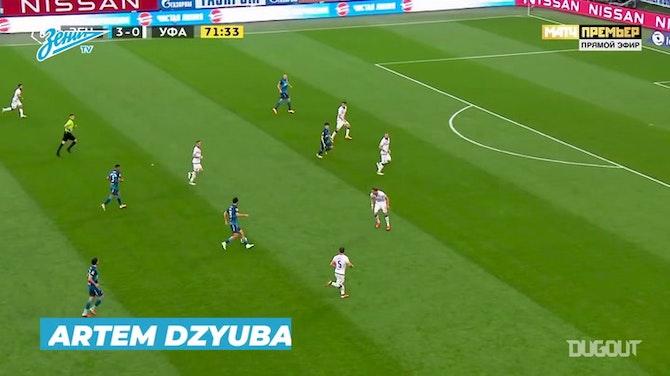Les meilleurs buts du Zenit en 2020