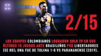 Imagen de vista previa para Conmebol Libertadores: La previa de Internacional vs Tolima en datos