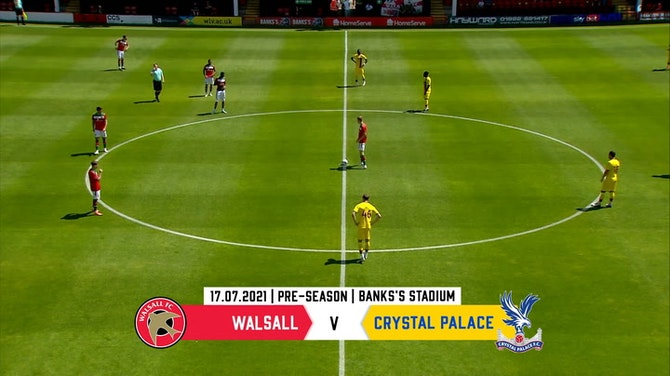 Preview image for Highlights of Patrick Vieira's first win as Palace boss