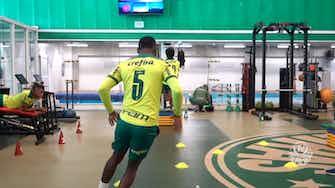Imagem de visualização para Palmeiras intensifica preparação para o dérbi contra o Corinthians