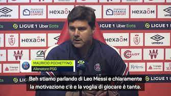 """Anteprima immagine per Pochettino e l'esordio di Messi: """"Ha un'energia contagiosa che fa bene"""""""