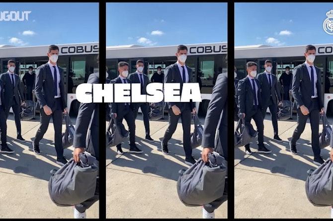 Real Madrid encerra preparação para encarar o Chelsea