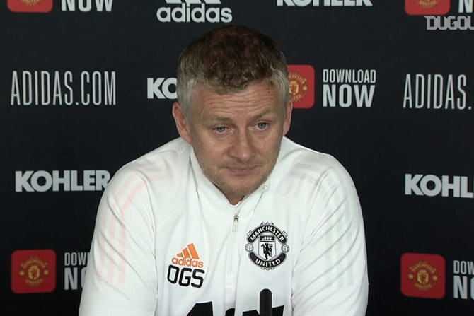 Solskjær on fans returning to Old Trafford and competition for places