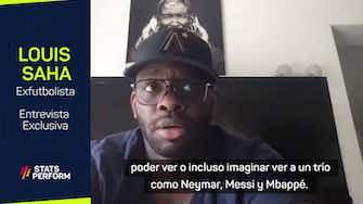 "Imagen de vista previa para Louis Saha: ""Me preocupaba que Mbappé se fuera al Real Madrid"""