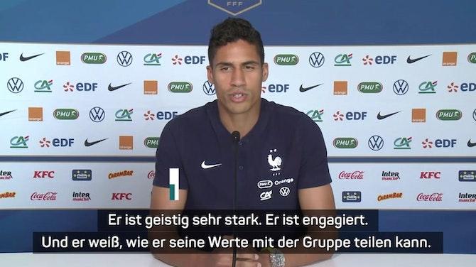 Varane scherzt über Rüdigers Biss gegen Pogba