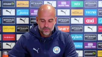 Preview image for It will be really tough this season an incredible challenge! | Chelsea vs Man City | Pep Guardiola