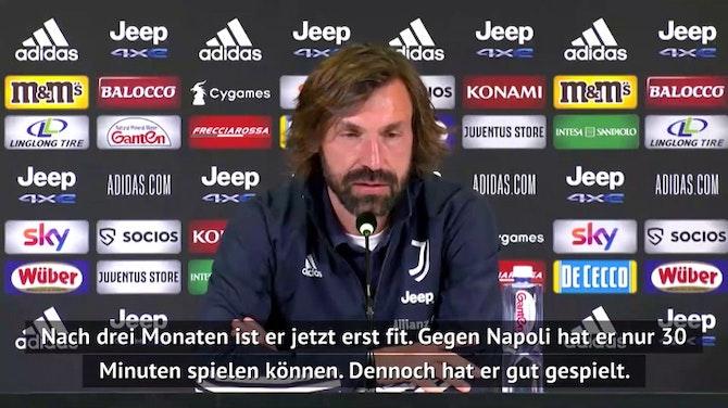 """Vorschaubild für Pirlo: """"Dybala ist nicht fit genug"""""""