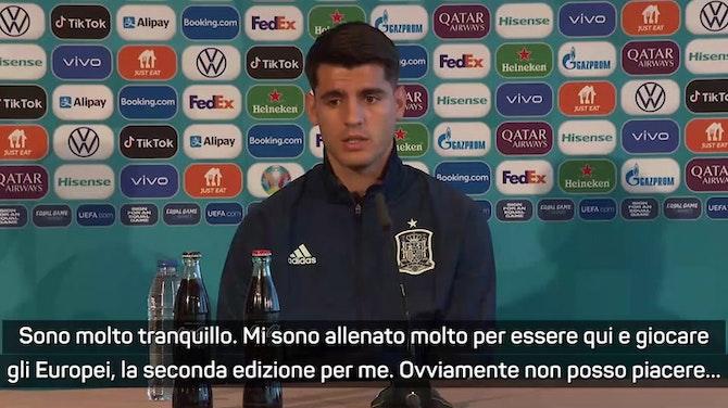 """Morata: """"Sono tranquillo, bisogna accettare le critiche"""""""