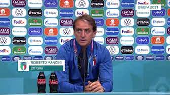 """Anteprima immagine per Mancini su Wembley: """"Ingiusto che non ci siano tifosi italiani e spagnoli"""""""