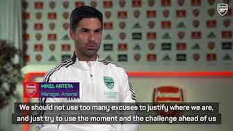 Preview image for Arteta calls for Arsenal unity to turn season around