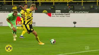 Imagem de visualização para Gols de Haaland pelo Dortmund contra o M'Gladbach