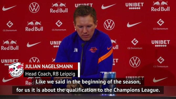 Leverkusen clash important for Leipzig but not decisive - Nagelsmann