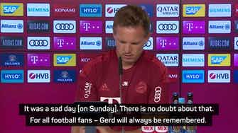 Preview image for Gerd Müller will be remembered by 'all football fans' - Nagelsmann