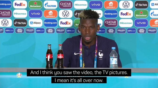 Pogba hopes Rudiger isn't suspended for 'a nibble'