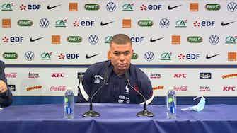 """Image d'aperçu pour Bleus - Mbappé """"n'a pas de doute"""" sur sa bonne entente avec Benzema"""