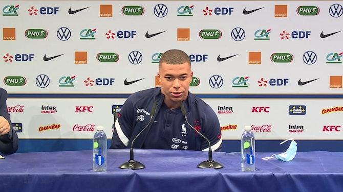 """Bleus - Mbappé """"n'a pas de doute"""" sur sa bonne entente avec Benzema"""